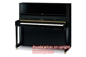 Promo prices on upright Kawai pianos