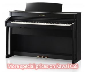 More special prices on Kawai CS 8