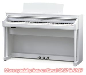 More special prices on Kawai CA 67 and CA17