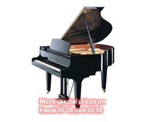 More special prices on Kawai GL 10 and GL 30