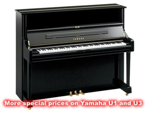 More special prices on Yamaha U1 and U3